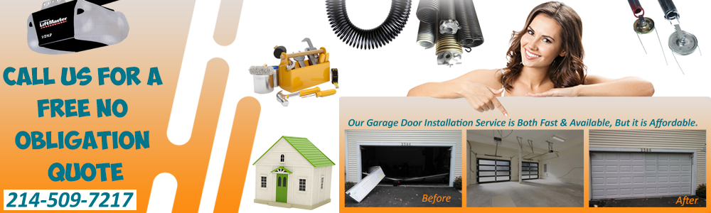Garage Door Repair Cedar Hill TX banner