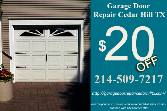 Garage Door Repair Cedar Hill TX Coupon